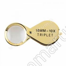 Prazisionslupe 10x 18 mm