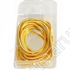 Stahllitze gold medium