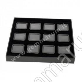 BOX 12 Scatoline Metallo 4X4x1.5 cm