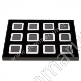 BOX 12 Scatoline Metallo 5.5X5.5x1.5 cm