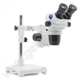 microscopio da incassatore binoculare stereozoom