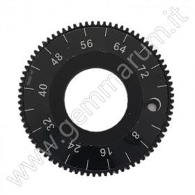 Aluminium index gear 80 teeth
