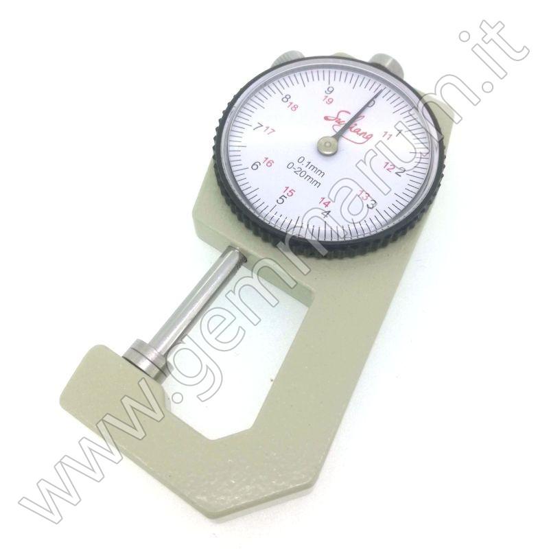 Gemstones dial gauge