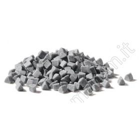 ceramic media for tumblers polishing metals