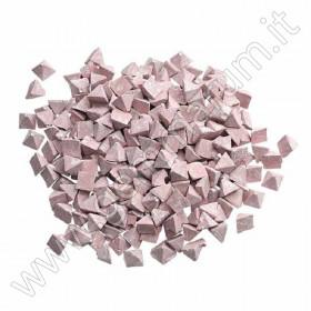 abrasivo plastico piramide cono sgrossatura metalli lucidatura buratto