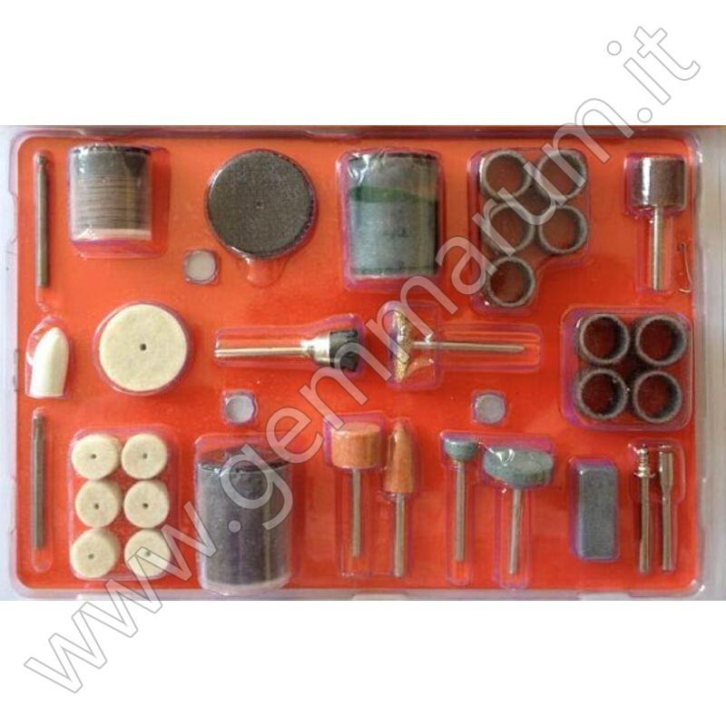 Kit di lucidatura 105 frese