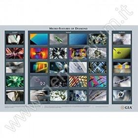 Diamond Micro Features Chart Poster von Diamanteinschlüssen
