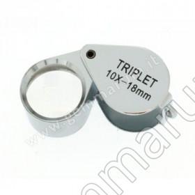 LENTE TRIPLETTA 10x 18 mm