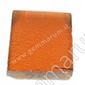 Hydrothermaler Quarz - orange braun