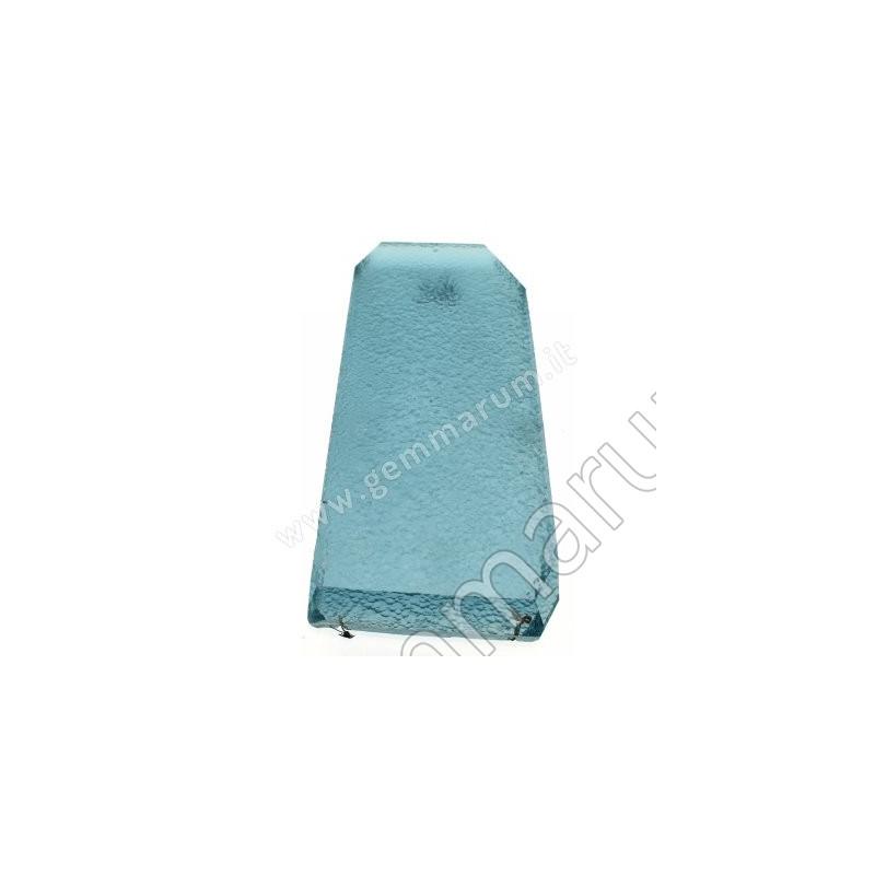 Quarzo Idrotermale  Blu chiaro da taglio