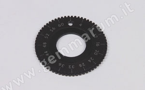 Index gear for hand piece