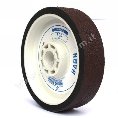 Resin-bonded diamond wheel 60 grit .