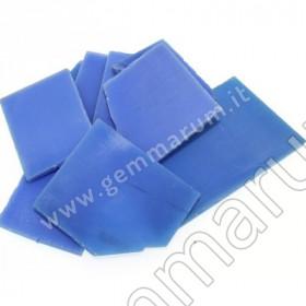 Blaue Achat-Platten