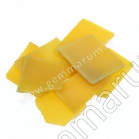 Gelbe Achat-Platten