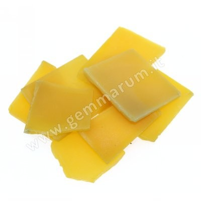 Yellow sheet agat 4 mm.