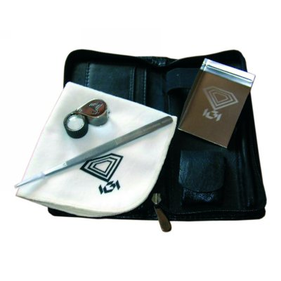 Parcel papers & bags, Gem clothes, tweezers, Stone Cases, Scoops